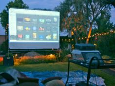 How To Build An Outdoor Theater DIY Backyard Theater: THE BASICS