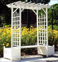 Beatiful Garden Arches, Arbors And Pergolas Creating Romantic Outdoor  Seating Areas
