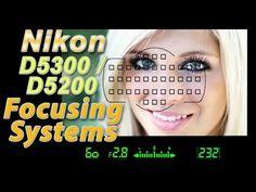 Nikon D5300 / D5200 Focus Square Tutorial   How to Focus Training Video - YouTube