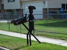 cowboy mailbox