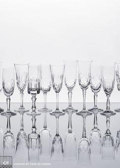 Champagne Flutes // Casa de Perrin