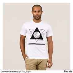 Uneven Geometry T-Shirt