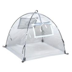 NuVue, 22 in. Greenhouse Pop-Open Framed Clear PVC Cover, 24040 at The Home Depot