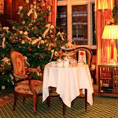 Christmas afternoon tea at The Milestone Hotel, London