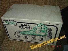 SW Vintage Jabba Playset With Exclusive WHITE Box SEARS Release RARE