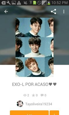 Genteee estou escrevendo uma fanfic do EXO leiam la por farvor votem e comentem e tambem se divirtam♥♥♥♥