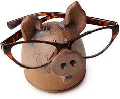Pig Eyeglasses Holder #ad #pigs