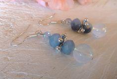 Σκουλαρίκια με κρύσταλλα Τσεχίας Pearl Earrings, Drop Earrings, Earrings Handmade, Pearls, Diy, Jewelry, Pearl Drop Earrings, Pearl Studs, Bricolage