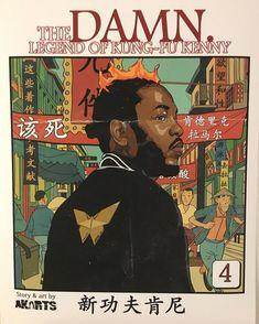 Kendrick Lamar: The Legend Of Kung Fu Kenny