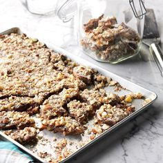 Aunt Rose's Fantastic Butter Toffee Recipe -I don't live in the country, but I love everything about it—especially good old-fashioned home cooking! Every year, you'll find me at our county fair, entering a different recipe contest. This toffee is a family favorite! —Kathy Dorman, Snover, Michigan
