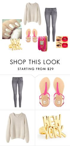 """""""Keep Calm and Carry On"""" by royalangel333 ❤ liked on Polyvore featuring H&M, La Garçonne Moderne, Kate Spade and La Mer"""