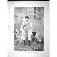 Pierrot with dog