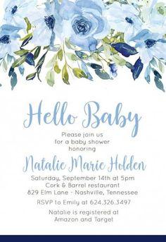 Ideas Birthday Flowers For Mom Baby Shower Baby Shower Signs, Baby Shower Invitations For Boys, Baby Boy Shower, Baby Boys, Mom Baby, Birthday Wishes Boy, Flowers For Mom, Diy Flowers, Baby Shower Invitaciones