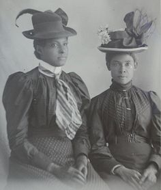 BLACK VICTORIANS | 1880s- Victorian era women of color.