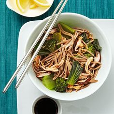 Chicken Soba Bowl -