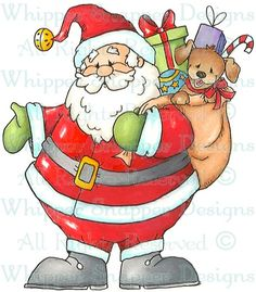 Sack of Fun - Christmas Images - Christmas - Rubber Stamps - Shop