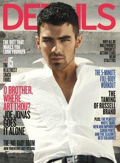 Joe Jonas sizzles on Details