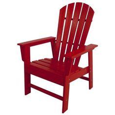 POLYWOOD® Recycled Plastic South Beach Adirondack Chair - Walmart.com