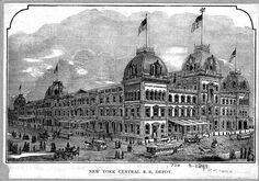 Grand Central Depot in New York (1899)