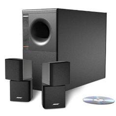 Bose Speaker System - $399.00 // Studio-quality sound for your home.
