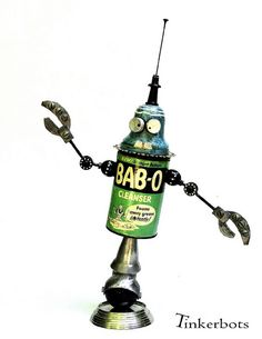 BAB-O-BOT by Tinkerbots, via Flickr