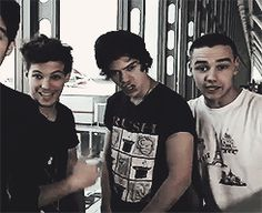 Louis Harry and Liam