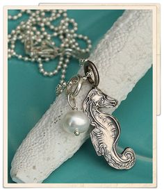 little silver seahorse  Check this out!!!