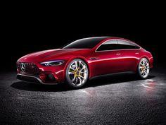 Geneva 2017: the Mercedes-AMG GT Concept