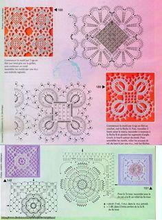 Aplicaciones para crochet Ruso o Irlandés con patrones-C- | TRICO y CROCHET-madona-mía | Bloglovin'