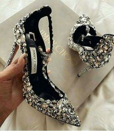 91fa32e42ee Jimmy Choo shoes discovered by Monica on We Heart It