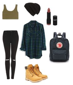"""""""Not a lot baby girl, just a little bit."""" by pussi-life on Polyvore featuring Madewell, adidas Originals, Topshop, Phase 3, NYX, Timberland, Fjällräven, women's clothing, women's fashion and women"""
