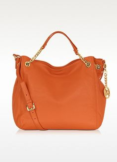 Michael Kors Jet Set Chain Leather Tote. I have this one in yellow. Love it =.)