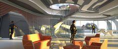 """The Divergent Series: #Allegiant"" Concept Art: David's Office"