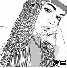 como dibujar a una chica