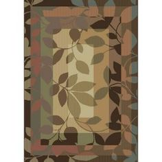 Canopy Multi 7 ft. 10 x 10 ft. 10 Area Rug-3VC6018440 at The Home Depot $259