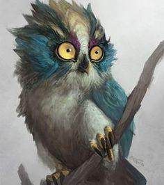 animaux / oiseau / rapace / chouette