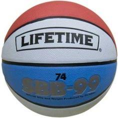 Lifetime Rubber Basketball Model 1069263 Ball