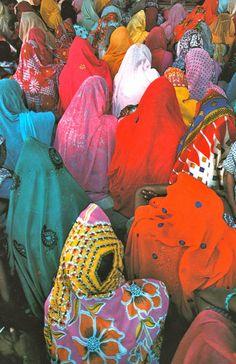 Femmes du Rajasthan de Jean-Luc Laloux, Editions Chêne/Hachette, 1981