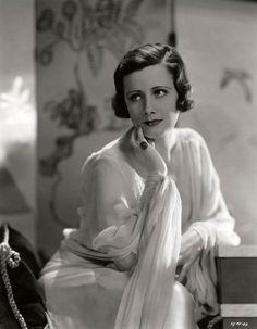 Irene Dunne, 1930's; photo by Ernest Bachrach