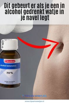 Heel apart: dít is wat er gebeurt als je een in alcohol gedrenkt watje in je navel legt! Alcohol, Face And Body, Life Hacks, Health Fitness, Navel, Sneakers Nike, Quotes, Diy, Household Cleaning Tips