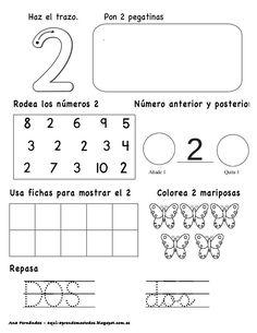 Números hasta el 10 - modificado