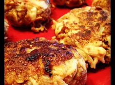 Weight Watchers Crab Cakes - 2 Points