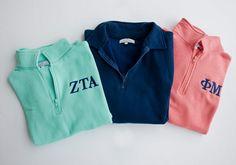 Perfect spring sweatshirt! So soft and super comfy! Get it at GreekLifeGirl.com