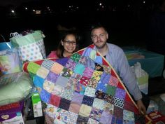 A baby quilt I made and sent to my Cousin Sarah in California for her new baby boy! They loved it!