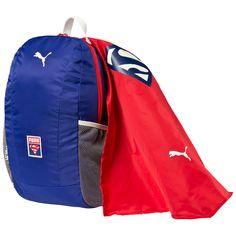 PUMA Superman Cape Backpack    Dieser fantastische Rucksack von PUMA ist ein absolutes Muss für alle jungen Fans von Superman, dem Mann aus Stahl....