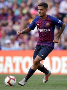 BARCELONA, SPAIN - SEPTEMBER 2: Philippe Coutinho of FC Barcelona during the La Liga Santander match between FC Barcelona v SD Huesca at the Camp Nou on September 2, 2018 in Barcelona Spain (Photo by Jeroen Meuwsen/Soccrates/Getty Images)