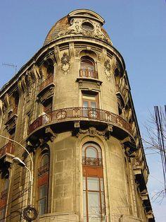 Bucharest buildings.