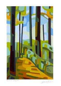 "Daily Paintworks - ""Landscape Study #7"" - Original Fine Art for Sale - © Mandy Budan"