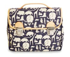 Animal Printed Satchel from Fanny & Alexander