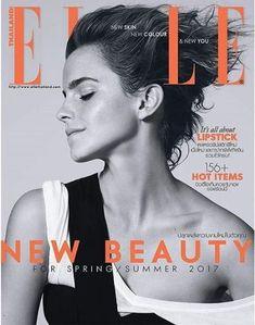 Emma Watson - Elle Magazine Cover [Thailand] (March 2017)